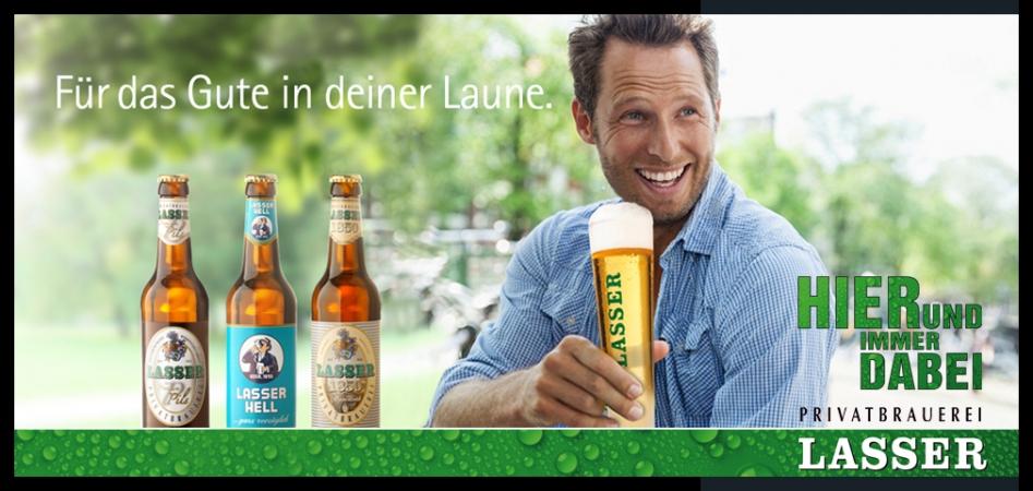 Lasser Privatbrauerei, Bier, Beer